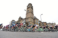 Picture by Allan McKenzie/SWpix.com - 15/05/2018 - Cycling - OVO Energy Tour Series Womens Race - Round 2:Motherwell - The peloton.