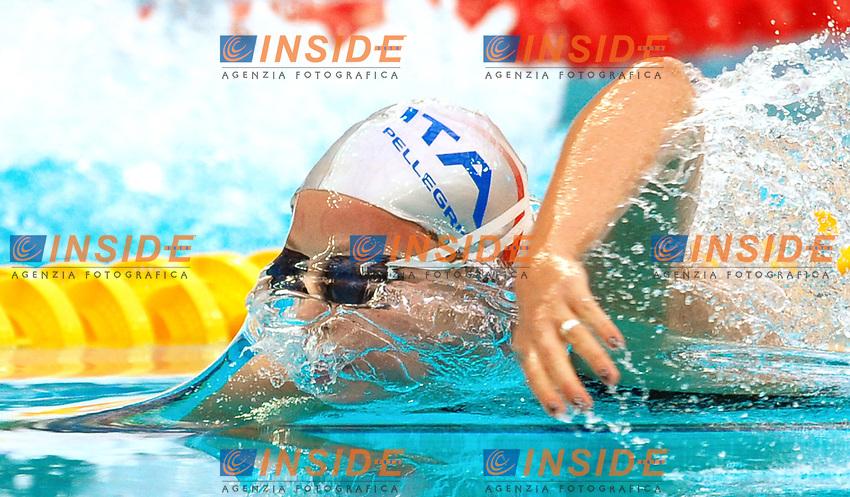 Federica Pellegrini Italia<br /> National Aquatics Centre<br /> Pechino - Beijing 12/8/2008 Olimpiadi 2008 Olympic Games<br /> Foto Andrea Staccioli Insidefoto
