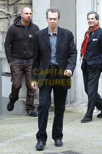"STEVE BUSCEMI.Photocall for the film ""Interview"", Rome Italy..March 27th, 2007.full length black suit.CAP/CAV.©Luca Cavallari/Capital Pictures."
