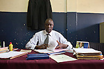 Corporal Henry Omboga, a detective on the Anti-Fraud unit at Nairobi Central Police Station.