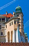 Kurza Stopka, zwana także Kurzą Nogą - wieża, belwederek, podporę wschodniego skrzydła Zamku Kr&oacute;lewskiego na Wawelu, Krak&oacute;w, Polska<br /> Kurza Stopka Tower, the  the support of the eastern wing of the Wawel Royal Castle, Cracow, Poland