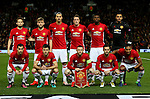 Manchester United team group during the UEFA Europa League match at Old Trafford, Manchester. Picture date: November 24th 2016. Pic Matt McNulty/Sportimage