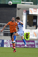 Harry Taylor Of Barnet during Barnet vs Bristol Rovers, Emirates FA Cup Football at the Hive Stadium on 11th November 2018