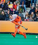 ROTTERDAM - Floris Wortelboer (NED)    tijdens   de Pro League hockeywedstrijd heren, Nederland-Spanje (4-0) . COPYRIGHT KOEN SUYK