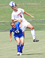UVa's No. 14 women's soccer team beat Hofstra 7-0 Sunday afternoon in Klöckner Stadium at the University of Virginia in Charlottesville, VA. Photo/Andrew Shurtleff