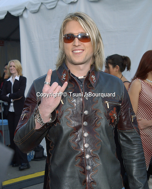 Tommy Shane arrives for the 30th Annual AMAs held at the Shrine Auditorium in Los Angeles, CA., January 13, 2003.           -            ShaneTommy01.jpg