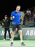 Rotterdam, Netherlands, 9 februari, 2019, Ahoy, Tennis, ABNAMROWTT, JELLE SELS (NED Photo: Henk Koster/tennisimages.com