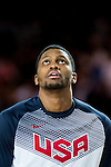 Rudy Gay of United States of America looks on during FIBA Basketball World Cup 2014 group C between United States of America vs Turkey  on August 31, 2014 at the Bilbao Arena stadium in Bilbao, Spain. Photo by Nacho Cubero / Power Sport Images