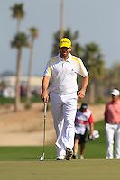 Sergio Garcia (ESP) walks onto the 5th green during Friday's Round 3 of the Commercial Bank Qatar Masters 2013 at Doha Golf Club, Doha, Qatar 25th January 2013 .Photo Eoin Clarke/www.golffile.ie