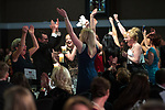 © Joel Goodman - 07973 332324 . 01/03/2018 . Manchester , UK . Team of the Year – Family winner is Hall Brown Family Law . The Manchester Evening News Legal Awards at the Midland Hotel in Manchester City Centre . Photo credit : Joel Goodman