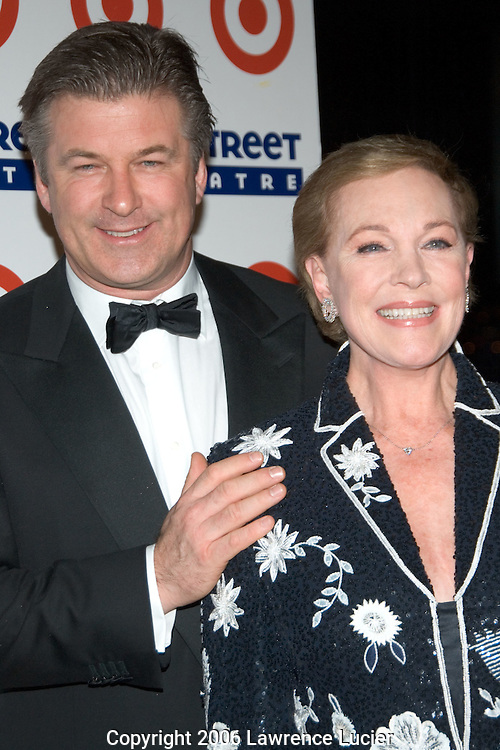 Alec Baldwin and Julie Andrews