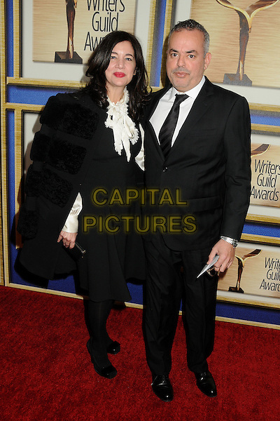 1 February 2014 - Los Angeles, California - Angela Weltman, Josh Weltman. 2014 Writers Guild Awards West Coast held at the JW Marriott Hotel.  <br /> CAP/ADM/BP<br /> &copy;Byron Purvis/AdMedia/Capital Pictures
