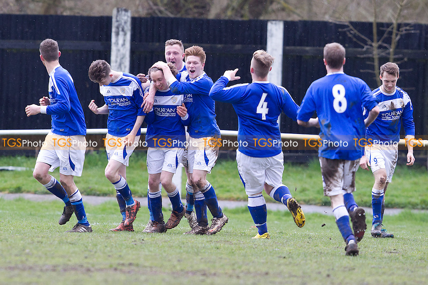 Great Bardfield vs Witham Phoenix - Braintree & North Essex Sunday League Division Three Cup Final at Halstead Town FC, Essex - 29/03/15 - MANDATORY CREDIT: Ray Lawrence/TGSPHOTO - Self billing applies where appropriate - contact@tgsphoto.co.uk - NO UNPAID USE