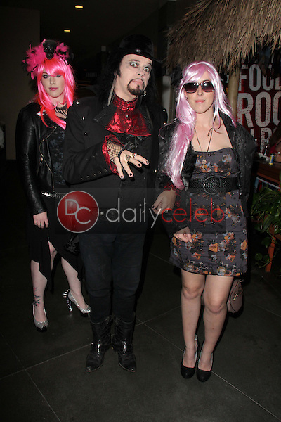Constance Hall, Cleeve Hall, Alora Hall<br /> at the Monster Man Costume Ball, Cabo Wabo, Hollywood, CA 10-16-13<br /> David Edwards/Dailyceleb.com 818-249-4998