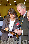 Arthur Spring at the North Kerry, West Limerick Election 2011 count at the Brandon Hotel Tralee on Saturday.