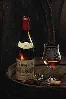 Europe/France/Centre/37/Indre-et-Loire/Azay-le-Rideau: Rose de Touraine - Dégustation chez Robert Denis - Bouteille de vin rosé AOC Touraine Azay le Rideau