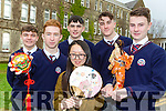 Jenny Liu and her students are celebrating Chinese New Year next Tuesday night by going for a Chinese meal l-r: Peter O'Sullivan, Sean O'Shea, Lorcan Martin, Gary Vaughan and Tadhg Doolan