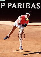 La tennista statunitense Christina McHale in azione nel corso degli Internazionali d'Italia di tennis a Roma, 15 maggio 2017.<br /> US tennis player Christina McHale in action during the italian Masters tennis in Rome, May 15,2017.<br /> UPDATE IMAGES PRESS/Isabella Bonotto