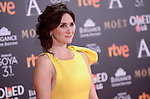 Maria Boto attends to the Red Carpet of the Goya Awards 2017 at Madrid Marriott Auditorium Hotel in Madrid, Spain. February 04, 2017. (ALTERPHOTOS/BorjaB.Hojas)