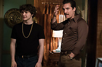 White Boy Rick (2018) <br /> Richie Merritt, left, and Matthew McConaughey star as Richard Wershe Jr. and Richard Wershe Sr.<br /> *Filmstill - Editorial Use Only*<br /> CAP/MFS<br /> Image supplied by Capital Pictures