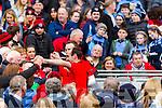 Bernard Murphy Glenbeigh Glencar players celebrate their victory over Rock Saint Patricks in the Junior Football All Ireland Final in Croke Park on Sunday.