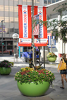 24 Aug 08: Signage in Denver, Colorado announcing the  Democratic National Convention