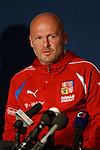 Czech manager Mikel Bilek