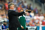 Russian coach Guus Hiddink at Euro 2008, RUS-GRE, 06142008, Salzburg, Austria