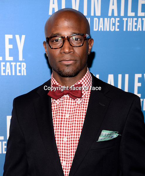 NEW YORK, NY - DECEMBER 04: Actor Taye Diggs pictured at Alvin Ailey's Opening Night Gala at New York City Center, on December 4, 2013 in New York City. Credit: RTNPluvious/MediaPunch Inc.<br /> Credit: MediaPunch/face to face<br /> - Germany, Austria, Switzerland, Eastern Europe, Australia, UK, USA, Taiwan, Singapore, China, Malaysia, Thailand, Sweden, Estonia, Latvia and Lithuania rights only -