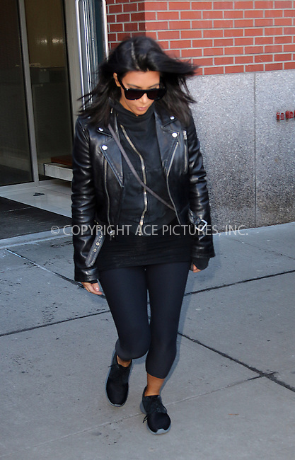 WWW.ACEPIXS.COM<br /> <br /> February 11 2015, New York City<br /> <br /> Kim Kardashian left her downtown apartment to photograph the Adidas Store on February 11 2015 in New York City<br /> <br /> By Line: Zelig Shaul/ACE Pictures<br /> <br /> <br /> ACE Pictures, Inc.<br /> tel: 646 769 0430<br /> Email: info@acepixs.com<br /> www.acepixs.com