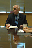 Illinois Governor Pat Quinn First Day in Office (USA)
