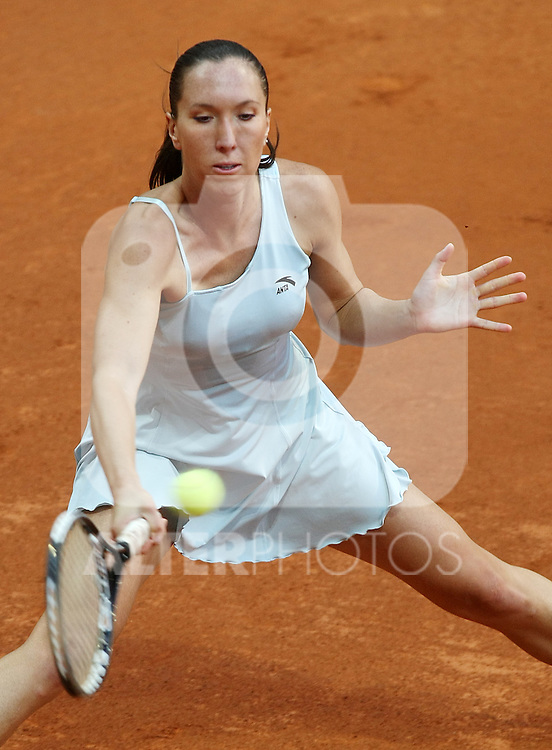 Serbia's Jelena Jankovic during his Madrid Open quarter final match.May 15 2009.(ALTERPHOTOS/Acero).