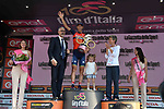 Vincenzo Nibali (ITA) Bahrain-Merida finishes 3rd overall in the general classification at the end of Stage 21, the final stage of the 100th edition of the Giro d'Italia 2017, an individual time trial running 29.3km from Monza Autodrome to Milan Duomo, Italy. 28th May 2017.<br /> Picture: LaPresse/Gian Mattia D'Alberto | Cyclefile<br /> <br /> <br /> All photos usage must carry mandatory copyright credit (&copy; Cyclefile | LaPresse/Gian Mattia D'Alberto)