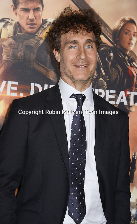 "Doug Liman attends the ""Edge of Tomorrow"" New York Fan Premiere on May 28, 2014 at the AMC Lincoln Square Theatre in New York City."