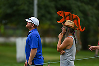 A Tiger Woods (USA) fan watches Tiger putt on 5 during Rd3 of the 2019 BMW Championship, Medinah Golf Club, Chicago, Illinois, USA. 8/17/2019.<br /> Picture Ken Murray / Golffile.ie<br /> <br /> All photo usage must carry mandatory copyright credit (© Golffile   Ken Murray)