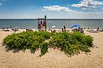 Hammonasset State Beach Park, Madison, CT. Long Island Sound