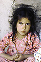 Irak 1985.Dans les zones libérées, région de Lolan, une petite fille.Iraq 1985.In liberated areas, Lolan district, a young girl