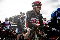 John Degenkolb (DEU/Lotto-Soudal) at the start<br /> <br /> 72nd Kuurne-Brussel-Kuurne 2020 (1.Pro)<br /> Kuurne to Kuurne (BEL): 201km<br /> <br /> ©kramon