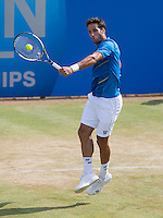FELICIANO LOPEZ  (ESP)<br /> <br /> Aegon Championships 2014 - Queens Club -  London - UK -  ATP - ITF - 2014  - Great Britain -  13th June 2014. <br /> <br /> &copy; AMN IMAGES