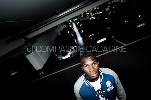 Belgian / Congolese football player Christian Benteke (Belgium, 16/07/2012)