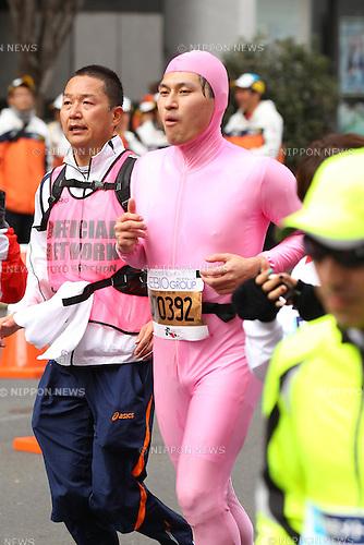 ()/Toshiaki Kasuga, .FEBRUARY 26, 2012 - Marathon : .Tokyo Marathon 2012 .in Tokyo, Japan. .(Photo by YUTAKA/AFLO SPORT) [1040]