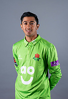 Picture By Allan McKenzie/SWpix.com - 11/04/18 - Cricket - Lancashire County Cricket Club Photo Call Media Day 2018 - Emirates Old Trafford, Manchester, England - Haseeb Hameed.