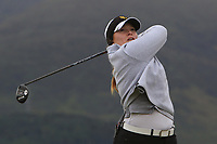 Diane Baillieux (BEL) on the 2nd tee during Round 2 of the Women's Amateur Championship at Royal County Down Golf Club in Newcastle Co. Down on Wednesday 12th June 2019.<br /> Picture:  Thos Caffrey / www.golffile.ie