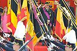 Défilé Militaire en présence de la famille royale lors de la Fête Nationale