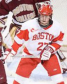 Bryan Ewing - The Boston College Eagles defeated the Boston University Terriers 5-0 on Saturday, March 25, 2006, in the Northeast Regional Final at the DCU Center in Worcester, MA.