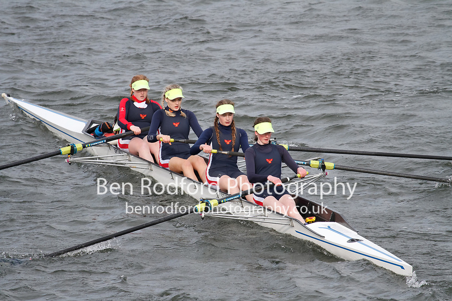 Crew: 360  Yarm Sch  Event: Girls J16 Fours<br /> <br /> Schools' Head of the River 2017<br /> <br /> To purchase this photo, or to see pricing information for Prints and Downloads, click the blue 'Add to Cart' button at the top-right of the page.