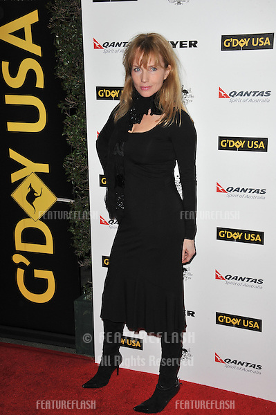 Rebecca De Mornay at the 2011 G'Day USA Black Tie Gala at the Hollywood Palladium..January 22, 2011  Los Angeles, CA.Picture: Paul Smith / Featureflash