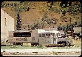 RGS Goose #4 displayed at Telluride.<br /> D&amp;RGW  Telluride, CO  Taken by Dorman, Richard L. - ca. 1970-1979
