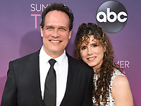 05 August 2019 - West Hollywood, California - Diedrich Bader, Dulcy Rogers. ABC's TCA Summer Press Tour Carpet Event held at Soho House.   <br /> CAP/ADM/BB<br /> ©BB/ADM/Capital Pictures