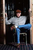 APR 2001: JAMES ELLROY, WRITER  © Leonardo Cendamo